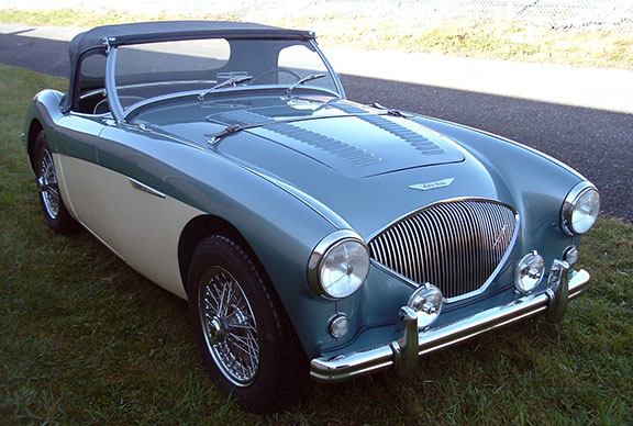 1956 Austin Healey 100 4