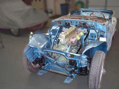 K Amp T Vintage Sports Cars 1967 Austin Healey 3000