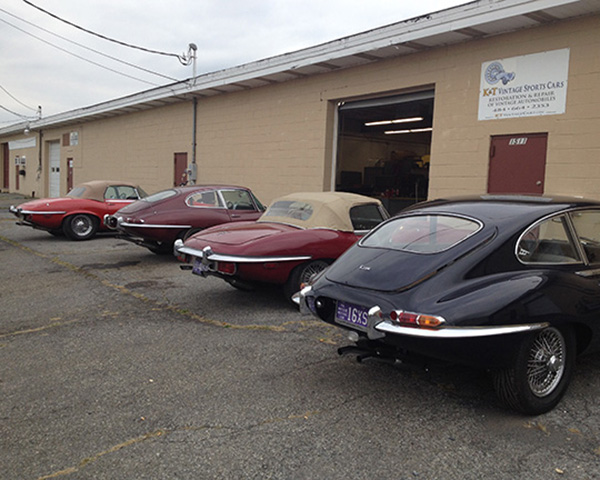 A day when we had a gaggle of Jags at the shop