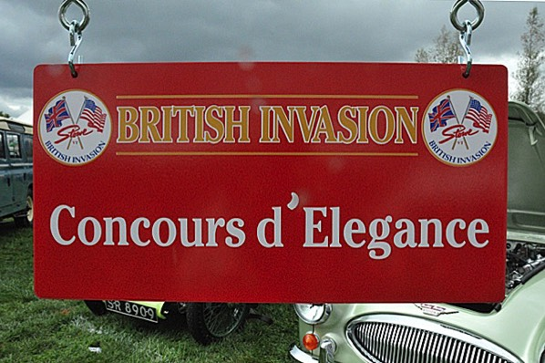 The British Invasion Concours d'Elegance is a judged competition.
