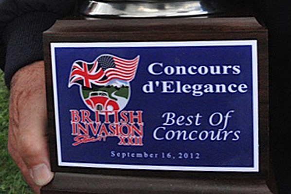Best of Concours means the best of the best.